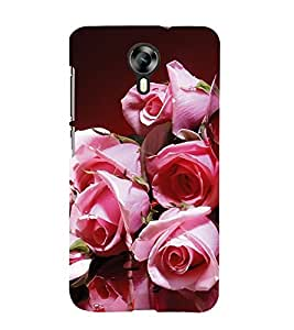 EPICCASE blusing roses Mobile Back Case Cover For Micromax Canvas Express-2 (Designer Case)