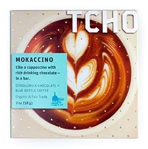 Tcho Mokaccino SeriousMilk + Blue Bottle Coffee 58g bar