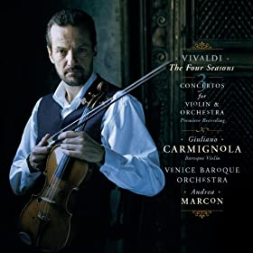 Vivaldi: Le Quattro Stagioni and Three Concertos for Violin and Orchestra