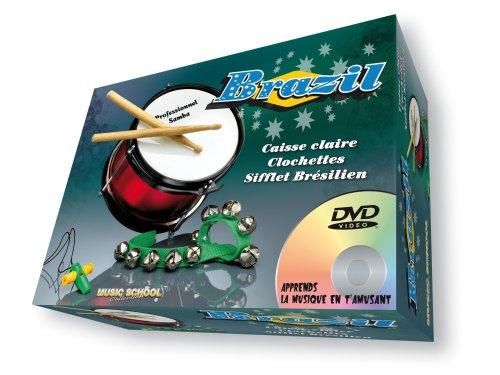 oidmagic-music-school-mu4-coffret-de-musique-brasil-tambour-sifflet-clochette