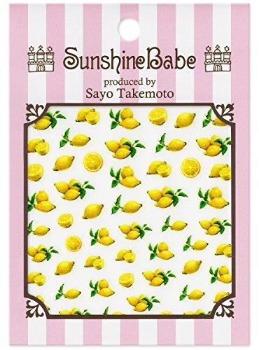 SunshineBabe ネイルシール Limone