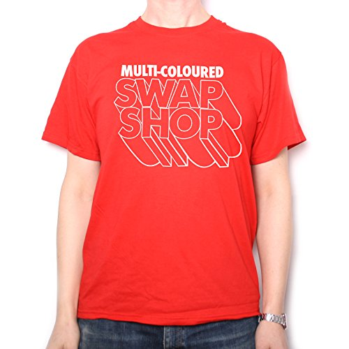 Multi Coloured Swap Shop T Shirt by Old Skool