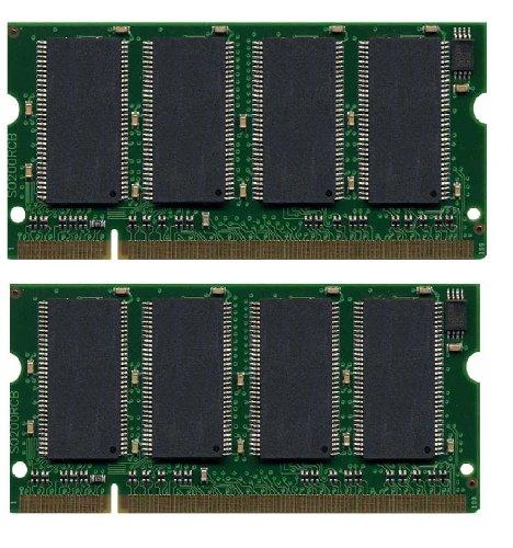 PC2-5300 DDR2-667MHz non-ECC Unbuffered CL5 240Pin DIMM D-RK 2X1GB Kingston 2GB