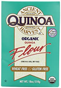 Ancient Harvest Organic Quinoa Flour, 18-Ounce Boxes (Pack of 4)