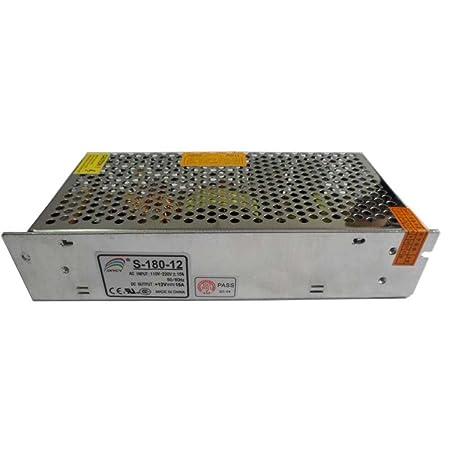 Smarstar AC110-220V à DC12V 15A 180W Conducteur d'alimentation électrique Driver pour CCTV LED Bande de lumière