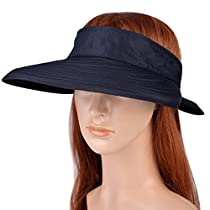 Visor Hats Wide Brim Cap UV Protection Summmer Sun Hats For Women