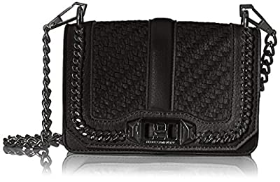 Rebecca Minkoff Love Crossbody Bag, Black, One Size