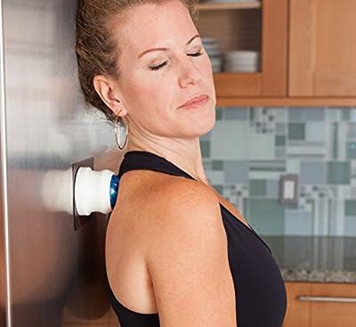 Magnette Hands-Free Deep Tissue Self Massage Roller Ball for Back, Neck and Shoulders
