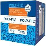Fairfield 10-Pound Poly-Fil Premium Polyester Fiber, White