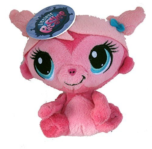 Littlest Pet Shop Plush Pink Minka Mark Monkey 5 Inch