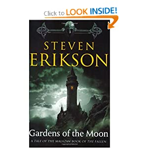 Gardens of the Moon (Malazan Book of the Fallen): Steven Erikson: 9780765322883: Amazon.com: Books
