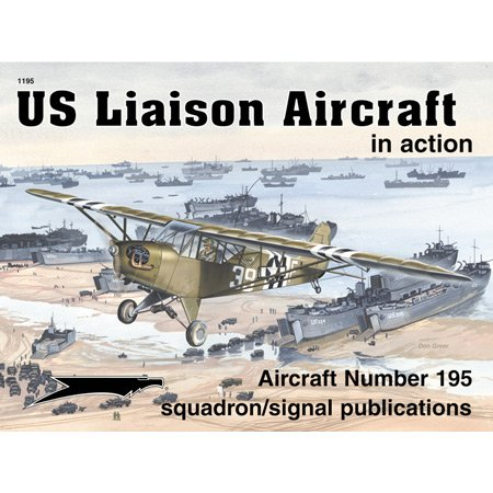 US Liaison Aircraft in action - Aircraft No. 195
