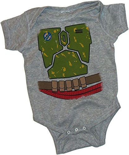 Boba Fett Costume -- Star Wars Infant One-Piece Snapsuit