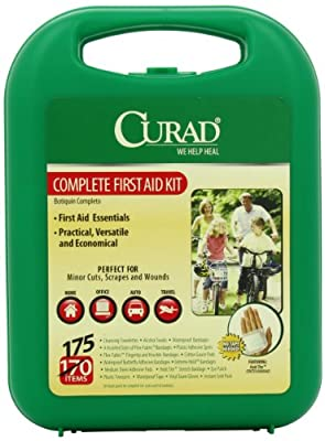 Curad Complete Kit In Hard Case, 175 Count by Curad