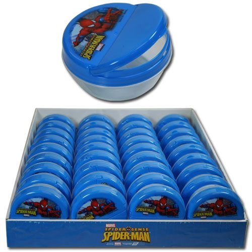 Spiderman Flip Top Snack Container - 1