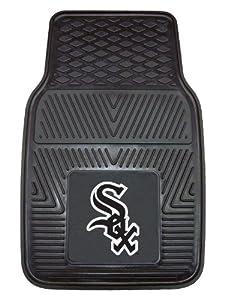 FANMATS MLB Chicago White Sox Vinyl Heavy Duty Vinyl Car Mat by Fanmats