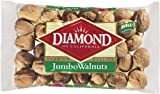 Diamond Nuts Jumbo Walnuts, In-Shell, 16-Ounce Bags (Pack of 8)