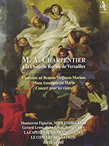 Charpentier: At the Chapel Royal, Versailles [2CD plus DVD (PAL)]