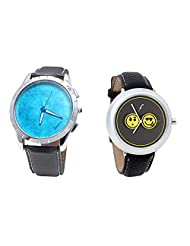 Foster's Men's Blue Dial & Foster's Women's Grey Dial Analog Watch Combo_ADCOMB0002413