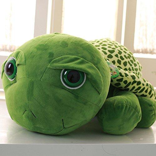 Lovely Big large eye Sea turtle Plush toys Doll Pillow Rag doll Soft Children Birthday Valentine Girls Gift PP cotton Height: 63 cm