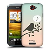 Head Case Song Birds Of Music Design Protective Back Case Cover For Htc One S