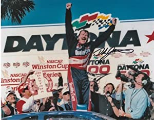 Dale Jarrett Autographed Hand Signed Nascar 8x10 Daytona 500 Champion Photo by Real Deal Memorabilia