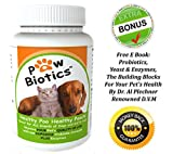 HUMAN GRADE Probiotics for Dogs and Cats- Stops Suffering- BEST Pet Supplements for Pets- Alleviates All Kinds of Health Issues- Vitamins in Formula with Enzymes and Prebiotics- All Natural NO MSG- Helps Nutrient Absorption from Food- FREE E book by WORLD RENOWNED Vet- 100% No Hassle Money Back Guarantee- 30 Day Supply- Add to Cart NOW!