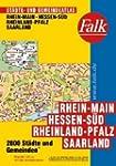 Falk St�dte- und Gemeindeatlas Rhein-...
