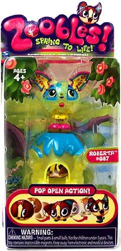 Zoobles Toy Petagonia Animal Mini Figure #087 Roberta