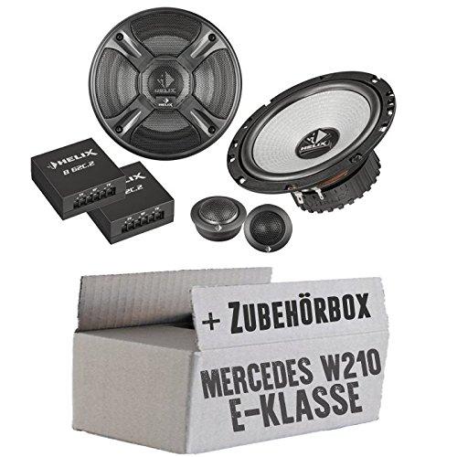 Mercedes classe E W210Plage arrière-Helix-B 62eia-568-c.2-16cm-Système de haut-parleur 2voies Kit de montage