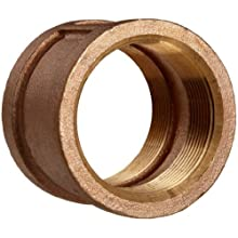 Lead Free Brass Pipe Fitting, Coupling, Class 125, NPT Female