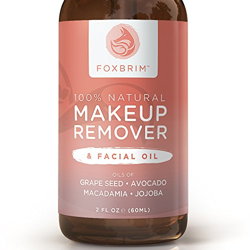 100% Natural Makeup Remover U0026 Facial Oil U2013 Effortlessly Remove Makeup U2013 Nourish U0026 Moisturize ...