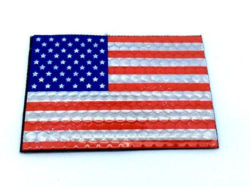 Toppa Bandiera USA IR Infra Red Con Velcro Per Airsoft