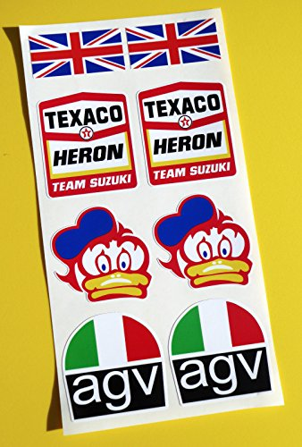barry-sheene-texaco-reiher-team-suzuki-optik-motorrad-helm-aufkleber-sticker