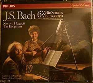 J. S. Bach: Six Violin Sonatas (including 2 alternative movements) - Monica Huggett / Ton Koopman