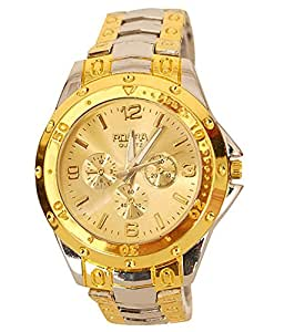 Fighter Gold Rosra Classic Men's Analog Watch Rosra SGD