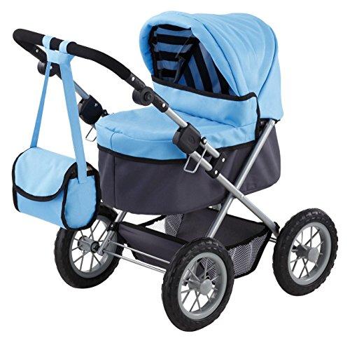 bayer-design-1305500-carro-trendy-para-munecas-46-cm-color-azul-claro