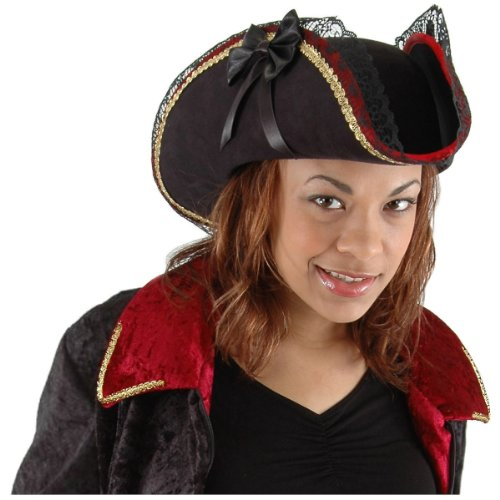 Lady Buccaneer Pirate Hat Costume Accessory
