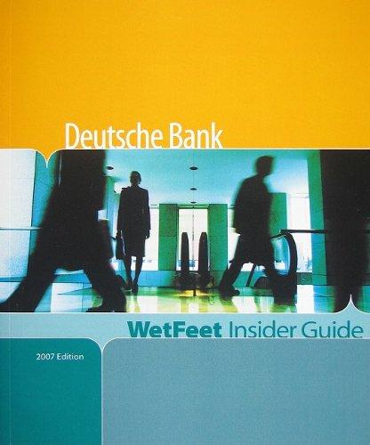 deutsche-bank-wetfeet-insider-guide