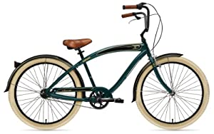 Nirve Classic 3 speed Bicycle (Green)