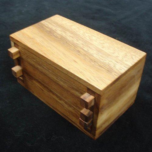 Hardwood Puzzle Box
