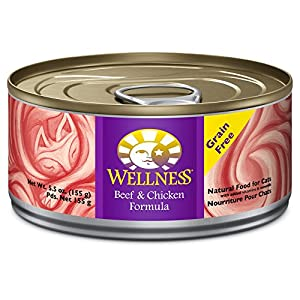 Wellness Complete Health Grain Free Beef & Chicken Natural Wet Canned