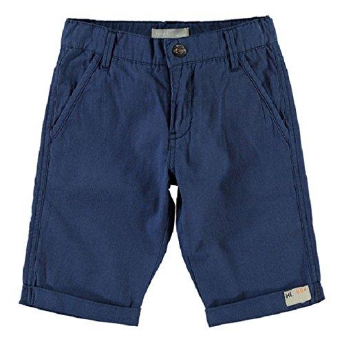 NAME IT Imo Kids Reg Long Shorts 215-Shorts Bambino    Blau 122