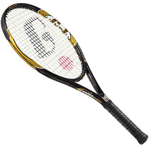 2 x Browning Super Gun Ti 140 Squash Rackets 3 Squash Balls RRP £390