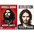 Russell Brand Revolution Gift Pack includes Revolution (HardBack) & Messiah Complex (DVD)