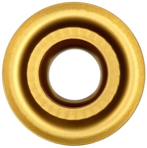 Sandvik Coromant CoroTurn 107 Carbide Turning Insert, RCMT, Round, SM Chipbreaker, S05F Grade, Multi-Layer Coating, RCMT 12 04 M0-SM, 0.472