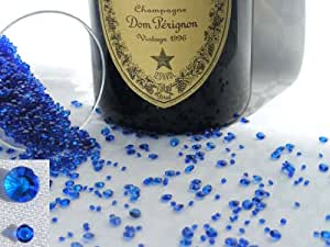4000 Royal Blue (3) Crystal Diamond Diamonds Scatter Table Decorations, Celebrations, Wedding, Confetti, Party, Gems, Gem Stones, Special Occasion, (3)
