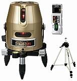 タジマ レーザー墨出し器 GT3Zi 受光器・三脚セット 矩・横 GT3Z-ISET