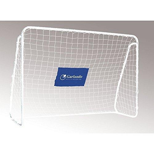 Garlando Porta da Calcio Field Match Pro Cm. 300X200 Argento/Nero