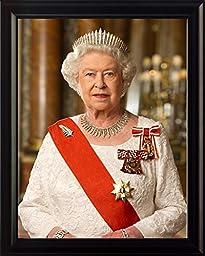 Queen Elizabeth II 8x10 Framed Photo
